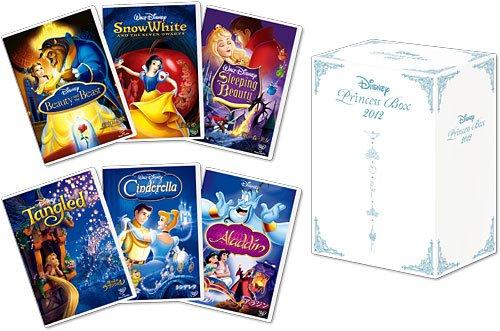 ディズニープリンセスBOX 2012 (期間限定) [DVD] 新品