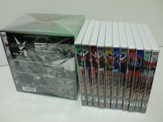 仮面ライダーW(ダブル) DVD全12巻セット 新品