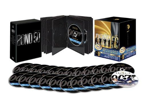 007 ジェームズ・ボンド ブルーレイ・コレクション23枚組 (初回生産限定) [Blu-ray] 新品