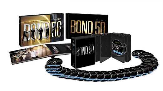 007 製作50周年記念版 ブルーレイ BOX 〔初回生産限定〕 [Blu-ray] 新品
