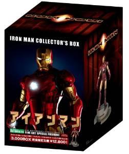 アイアンマン 日本限定 フィギュア付 Blu-rayBOX (2枚組) 新品 マルチレンズクリーナー付き