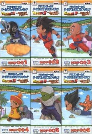 ドラゴンボールZ ワールドコレクタブルフィギュア ~Memorial Parade~ 全6種 バンプレスト 新品