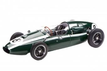 Schuco 1/18 クーパー T51 1959年世界チャンピオン No. 8 Sir Jack Brabham 国際貿易 新品