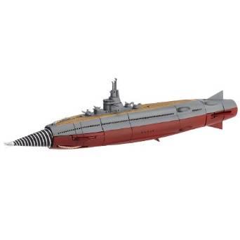 特撮リボルテック034 海底軍艦 轟天号 ノンスケール ABS&PVC製 塗装済み アクションフィギュア 海洋堂 新品