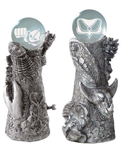 ウルトラ十二神将・外伝(シルバーバージョン) ウルトラ曼荼羅塔(宝珠付き) 単体 マイスタージャパン 新品