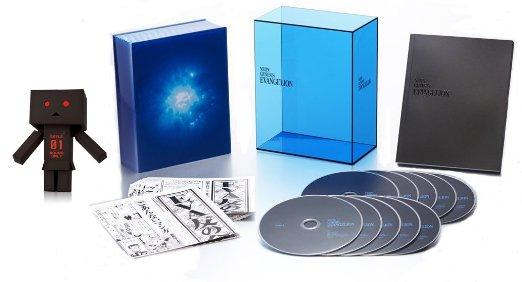 【Amazon.co.jp限定】新世紀エヴァンゲリオン NEON GENESIS EVANGELION Blu-ray BOX (ゼーレ リボルテックダンボー・ミニ付 新品