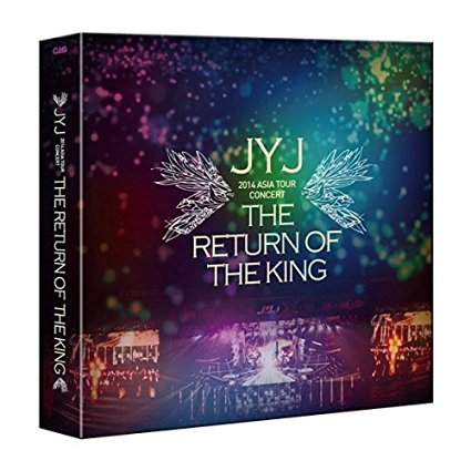 JYJ アジア ツアー コンサートTHE RETURN OF THE KING ザリターンオブザキング 【限定版】(韓国版) DVD Audio 新品