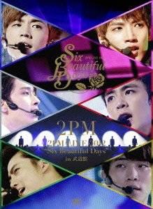 "2PM LIVE 2012 ""Six Beautiful Days"" in 武道館(初回生産限定盤) [DVD] 新品"