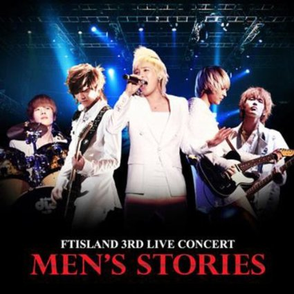 MEN'S STORIES - FTIsland 3rd Live Concert DVD Audio 新品