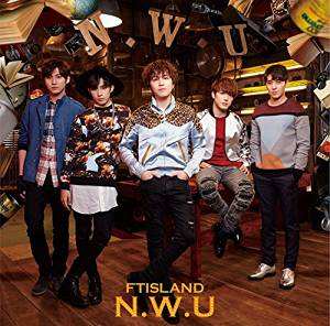 N.W.U 初回限定盤B CD+DVD FTISLAND  CD 新品