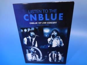 リッスン・トゥ・ザ CNBLUE CNBLUE ファースト・ライブ・コンサート 2010@AX-KOREA [2DVD+PHOTO BOOK] 新品