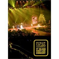 FIRST ISLAND - FT ISLAND LIVE CONCERT DVD 新品