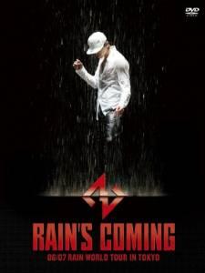 RAIN'S COMING 06/07 RAIN WORLD TOUR IN TOKYO [DVD] 新品