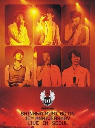 SHINHWA MUST GO ON 10TH ANNIVERSARY LIVE IN SEOUL(3枚組) [DVD] 新品