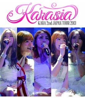 KARA 2nd JAPAN TOUR 2013 KARASIA (初回限定盤) [Blu-ray] 新品