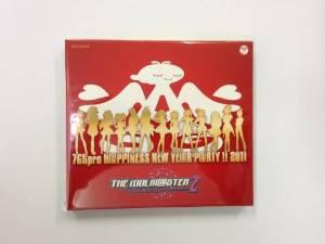 アイドルマスターライブ限定 H@PPINESS NEW YE@R P@RTY !! 2011 CD 新品
