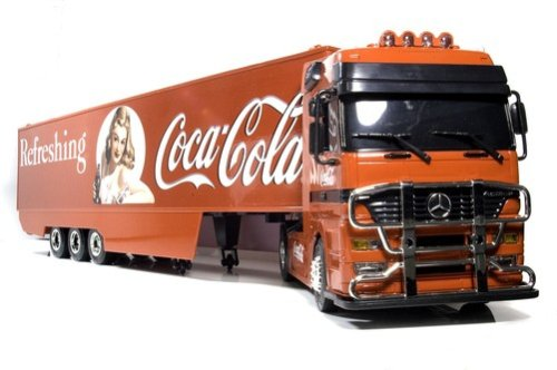 R/Cコカ・コーラトレーラー赤 REAL LIFE JAPAN 新品