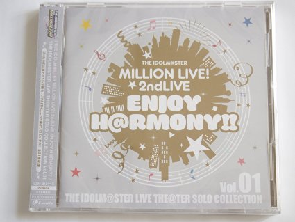 THE CD IDOLM@STER MILLION LIVE☆2ndLIVE THE MILLION ENJOY H@RMONY!! CD 新品, JSRACINGオンラインショップ:f37bfb3e --- sunward.msk.ru