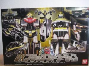 未来戦隊タイムレンジャー DXブラックフォーメーション タイムロボ&タイムシャドウ 新品
