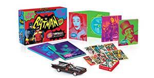 バットマン コンプリートTVシリーズ コレクターズBOX(数量限定生産/13枚組) [Blu-ray] 新品