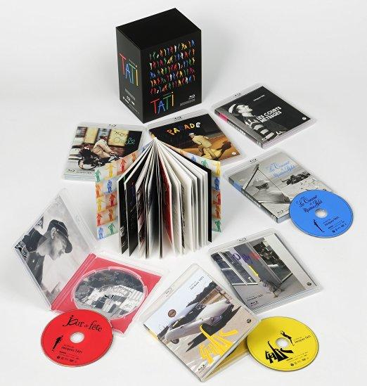 ジャック・タチ コンプリートBOX [Blu-ray] 新品
