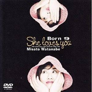 She loves you born9 10th anniversary video collection 1985-1995 [DVD] 渡辺美里 新品
