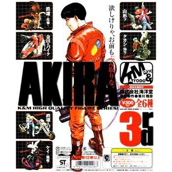 ガシャポン K&M アキラ AKIRA 3rd シークレット入全6種セット 海洋堂 新品