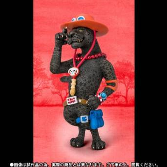 魂ウェブ商店限定 フィギュアーツZERO Artist Special ポートガス・D・エース as クロヒョウ 新品