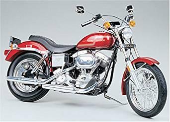 タミヤ 1/6 オートバイシリーズ No.10 ハーレー スポーツ プラモデル 16010 未組立品 経年劣化あり