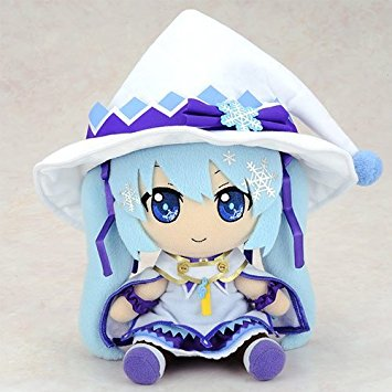 【SNOW MIKU2014】雪ミクぬいぐるみ Magical Snow ver. Gift 新品