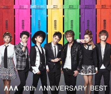 AAA 10th ANNIVERSARY BEST(AL3枚組+DVD)(オリジナル・クリアファイル(A5サイズ)付) 新品 CD