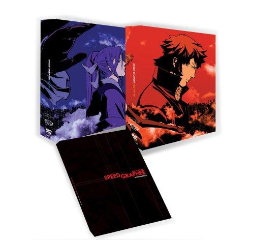 「スピードグラファー」DVD-BOX (アンコールプレス版) 高田裕司 新品 マルチレンズクリーナー付き