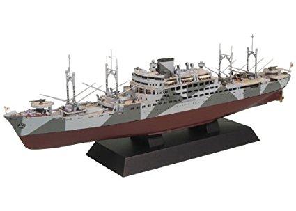 ピットロード 1/700 日本海軍 特設巡洋艦 愛国丸1941 開戦時 W134 新品