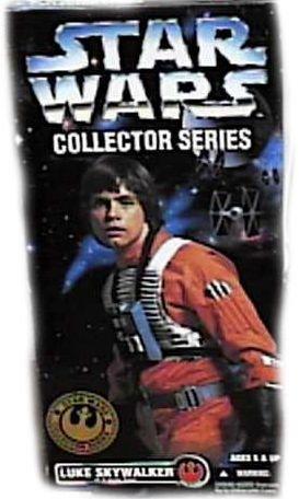 STAR WARS Collector Series LUKE SKYWALKER In X-wing Gear Hasbro / Kenner スターウォーズ ルーク 新品
