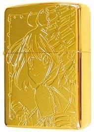 けいおん!! ZIPPO 平沢唯 GoldLimited 新品