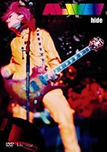 ALIVE!(初回限定盤) [DVD] hide  新品 マルチレンズクリーナー付き