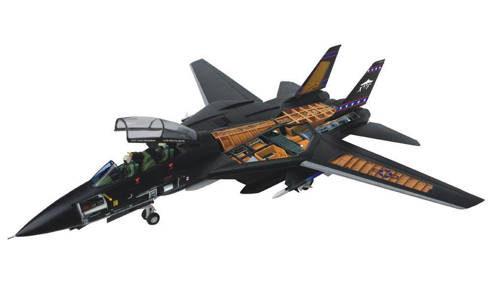 スカイネット 立体パズル 4D VISION ビークルカットモデル No.04 1/32 F-14D トムキャット戦闘機 VX-9 バンパイアーズ 青島文化教材社