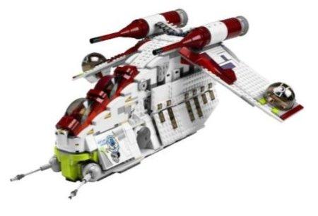 レゴ リパブリック・アタック・ガンシップ 7676