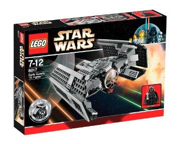 レゴ スター・ウォーズ ダース・ベイダーのTIEファイター 8017
