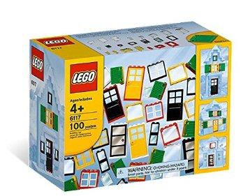 レゴ 基本セット ブロック ドアと窓セット 6117