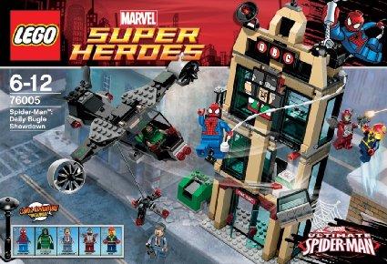 レゴ スーパー・ヒーローズ スパイダーマン™:デイリー・バグルでの決戦 76005