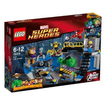 レゴ スーパー・ヒーローズ ハルクのラボスマッシュ 76018