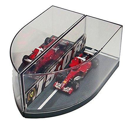 MATTEL(マテル) [1/43] Ferrari(フェラーリ) F2004 HUNGARORING 15.08.2004 (シューマッハ&バリチェロ) 新品(箱に色あせあり)