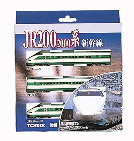 Nゲージ車両 200 2000系東北新幹線 基本セット (3両) 92206 トミーテック 新品