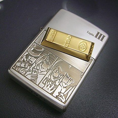 ZIPPO ルパン三世ジッポーライター 「Bullet Mark(オールキャスト)」 新品