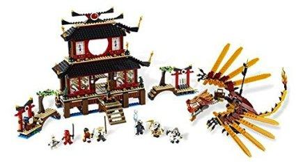 レゴ (LEGO) ニンジャゴー ファイヤー神殿 2507 新品