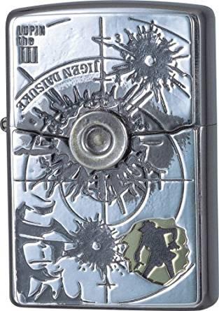 ZIPPO ルパン三世ジッポーライター 「ザ・パートナー(次元)」 バンプレスト 新品(75周年記念の缶のセット品)