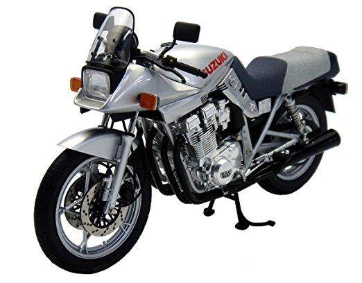 1/12 WIT'S ダイキャスト バイクシリーズ SUZUKI GSX1100S 刀 /ブライトシルバーメタリック マイルストーン 新品