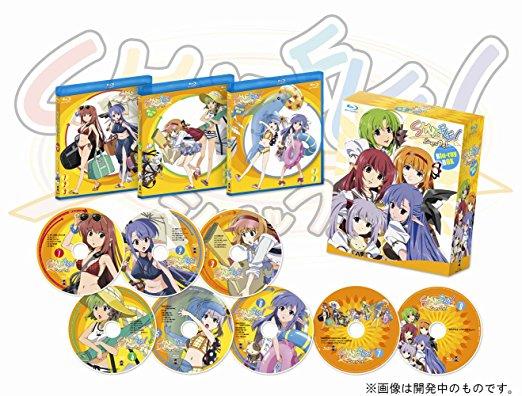 Shuffle! BOX 【初回限定生産】 [Blu-ray] (中古)マルチレンズクリーナー付き