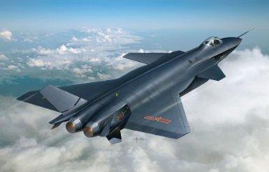 1/144 J-20 中国空軍 ステルス戦闘機 DRAGON/青島文化教材社